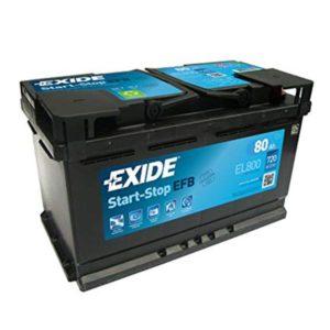 ΜΠΑΤΑΡΙΑ START STOP EXIDE EFB EL800 80/720 ΔΕΞΙΑ