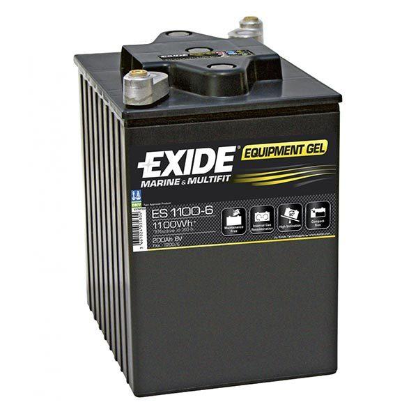 ΜΠΑΤΑΡΙΑ ΣΚΑΦΩΝ EXIDE GEL ES1100-6 200/950